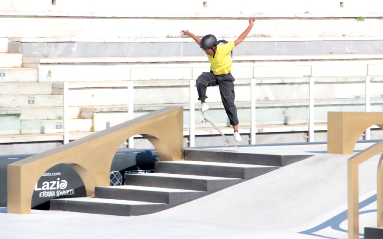 South African skateboarder, Boipelo Awuah, is looking forward to representing the country at the Olympic Games as she will be one of the youngest athletes in Tokyo. Photo: Supplied