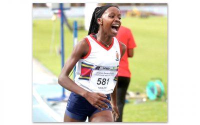 Prudence Sekgodiso Runs New PB in Belgium