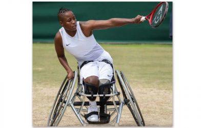 Kg Montjane Earns Runners-Up Wimbledon Wheelchair Doubles Medal