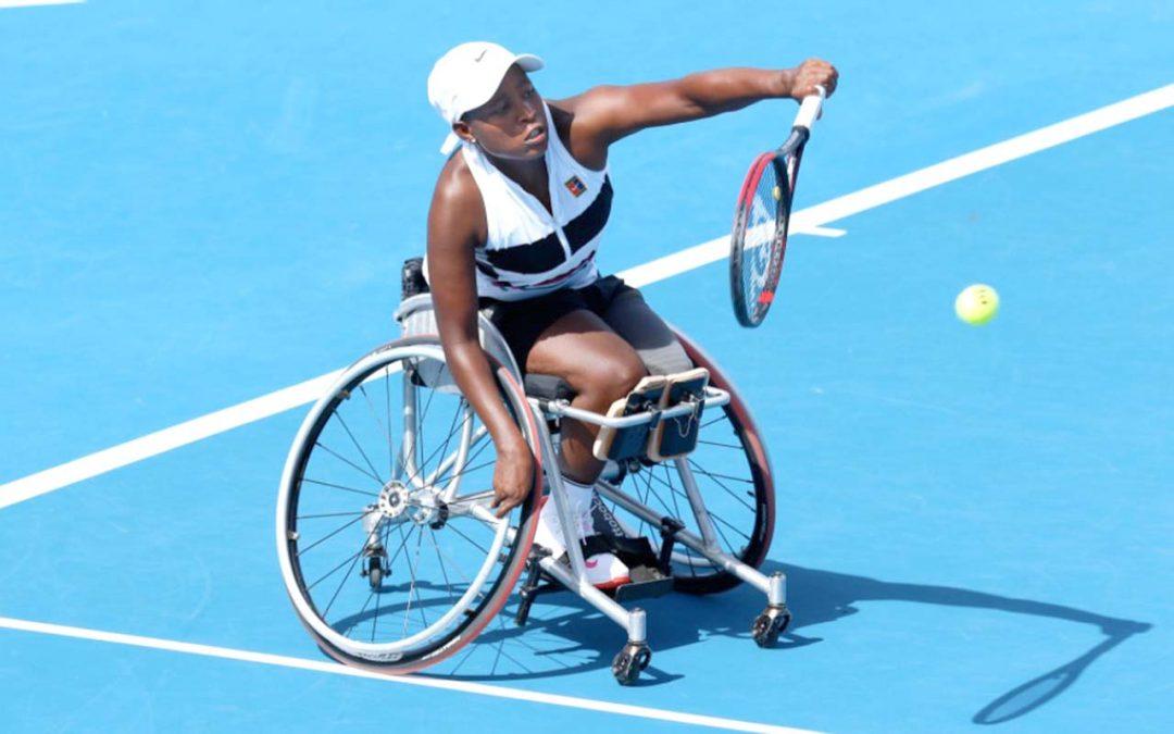 Montjane Eyes Paralympic Podium After Wimbledon Heroics