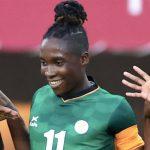 Barbra Banda Makes History for Zambia in Tokyo