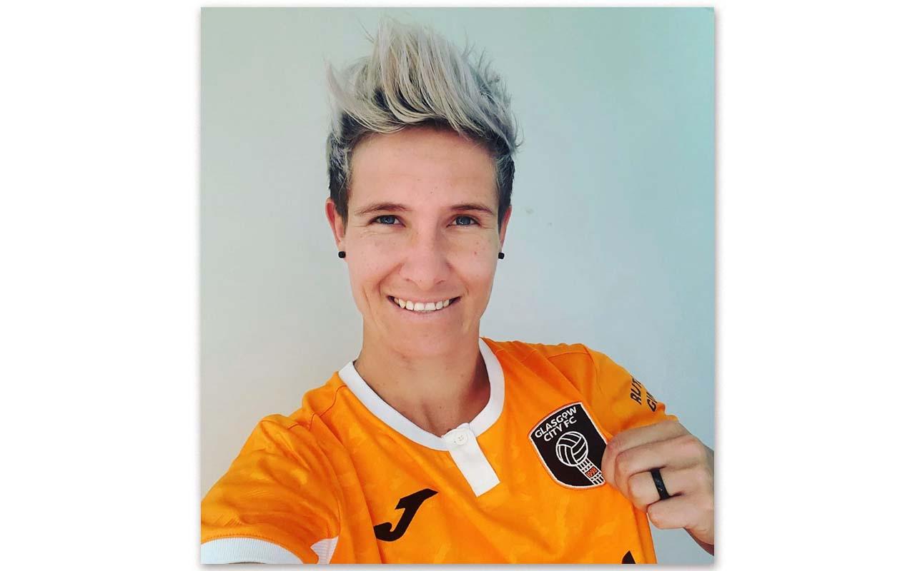 Banyana Banyana Captain, Janine Van Wyk, re-joins Scottish champions, Glasgow City FC, for the 2021/22 campaign. Photo: Janine van Wyk (Instagram)