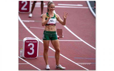 Wenda Nel Progresses to 400m Hurdles Semi-Final Round in Tokyo