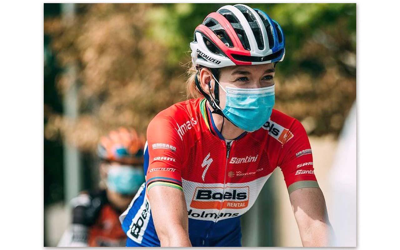 Professional cyclist, Anna van der Breggen, looks forward to competing in the first women's Tour de France race since the 1980s in Paris, July 2022. Photo: Anna van der Breggen (Instagram)