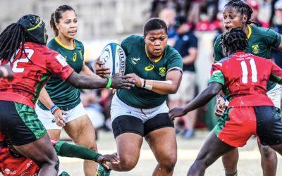 Springbok Women Back in Action Against Kenya