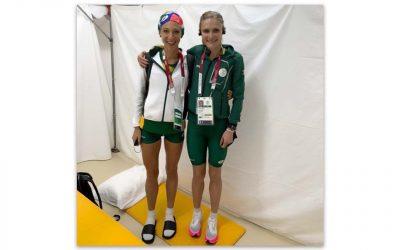 Irvette van Zyl Grateful for Olympics Participation
