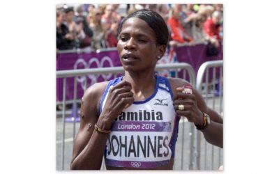 Helalia Johannes Makes Olympic History for Namibia