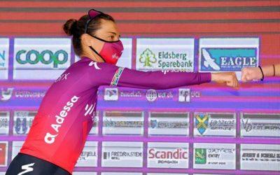 Moolman-Pasio Delighted with Norway Ladies Tour Podium Finish