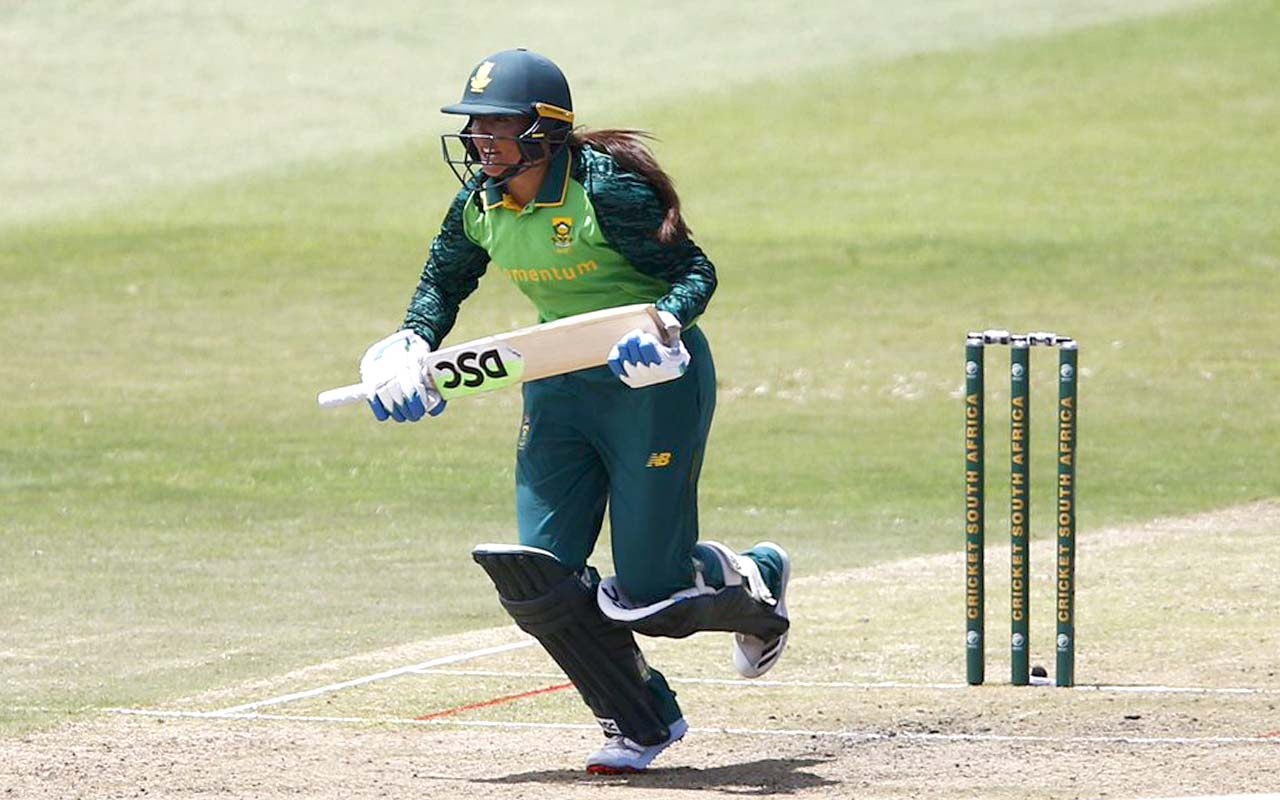 Suné Luus top-scored in South Africa's losing effort in the final T20 against the West Indies in Antigua on Saturday, the emphatic win rewarding the West Indies with a draws series. The Momentum Proteas will be looking forward to the ODI series starting on Tuesday, also in Antigua. Photo: Cricket South Africa
