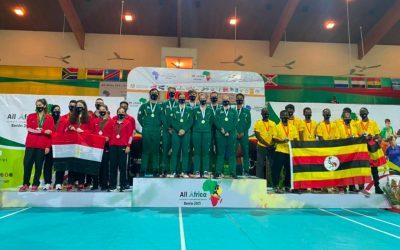 SA's Badminton Team Claim African Honours in Benin