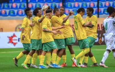 South Africa Celebrates Banyana Banyana's Emphatic Victory