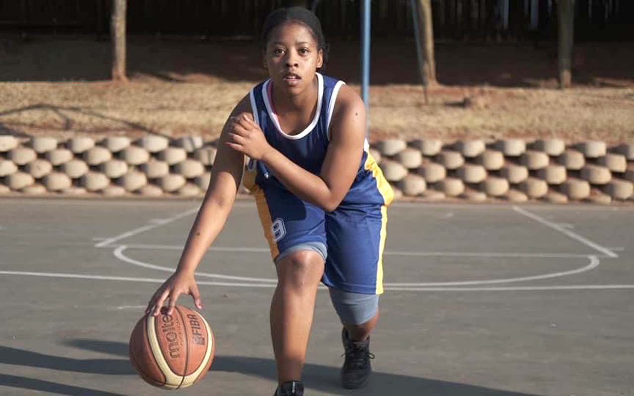 Basketball player, Thandiwe Nqanda, is on a mission to give back to the sport as she has served 12 years in the game. Photo: Supplied