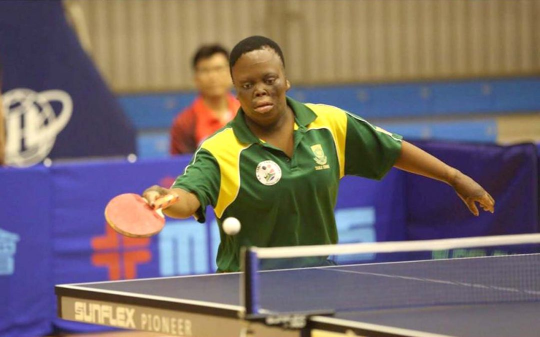 Para Table Tennis Superstar Mnyandu set on 2024 Paralympic Games