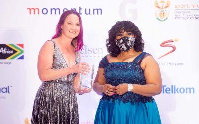 Vermaak Humbled by Telkom Woman of the Year Award
