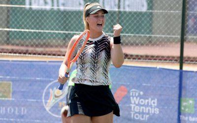 Zoë Kruger Wins Maiden ITF Pro Title