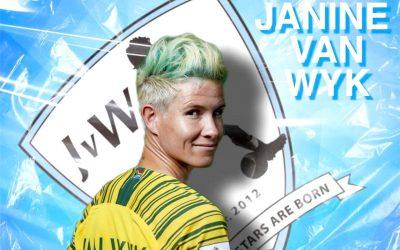 Janine van Wyk Thrilled with Return to SA Football