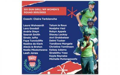 Six Gun Grill Partners WP Women's Cricket Team