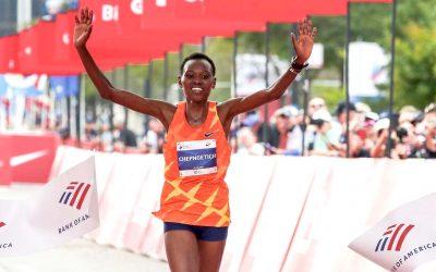 Ruth Chepngetich Storms to Chicago Marathon Victory