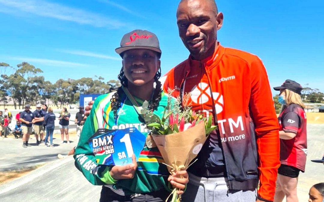 Miyanda Maseti Defends BMX SA Champs Title