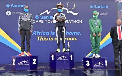 Kenya's Lydia Simiyu Earns Debut Cape Town Marathon Title